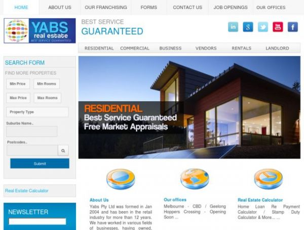 Real Estate - With Admins and Superadmins