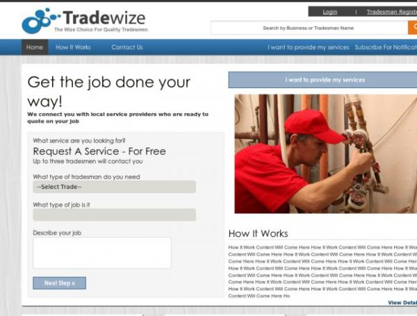 Search And Rate Tradesmen