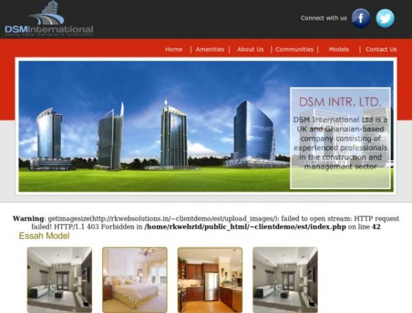 Real Estate Property Showcase Website
