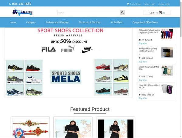 Online Shopping B2b ecommerce store